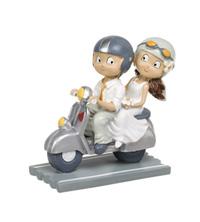 Novios sobre rueda